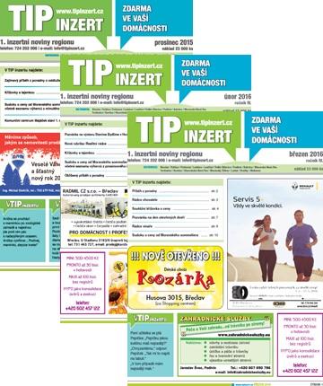 Obálky Tipinzert